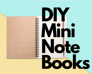 Teen Crafternoon: Make Your Own Mini Notebook
