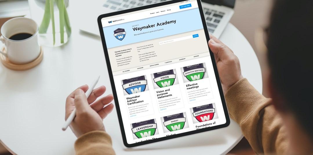 Leadership development in Waymaker Academy