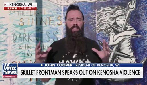Skillet Frontman Speaks Out on Kenosha, WI