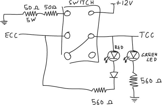 Manual Torque Converter Override for EF Falcon
