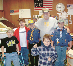 Cub Scout Pack #3313 from Weisser Park Elementary School toured The Waynedale News, Monday, Nov. 11th.