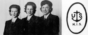 Real life 'Rosie the Riveter (center) of Huntington Indiana