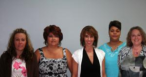 Jennifer Conway, Karen North, Melanie Milner, (owner), Lenessa Scruggs,