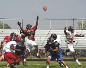 Bishop Luers Knights are back - looking good for another state championship.