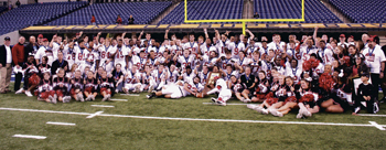 BISHOP LUERS WINS BACK TO BACK STATE CHAMPIONSHIPS