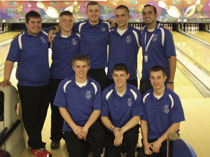 WAYNE HIGH SCHOOL BOYS BOWLING TEAM ADVANCE TO SEMI-STATE 2011