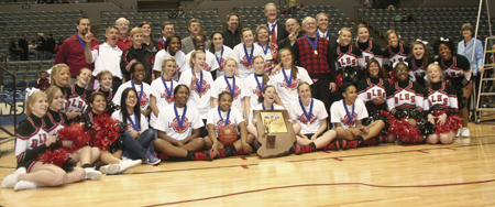 LADY KNIGHTS CAPTURE 6TH STATE TITLE