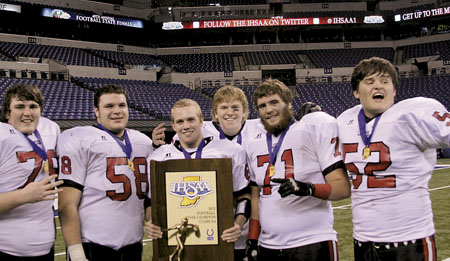 LUERS MAKES HISTORY AFTER SEASON OF ADVERSITY