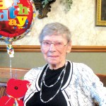 CONGRATULATIONS – 100 YEARS OLD!
