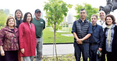 """DNR FORESTRY PLANTS """"ANNE FRANK SAPLING"""" AT UNITED NATIONS"""