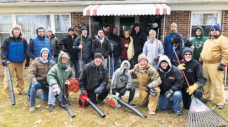 NEIGHBORWORKS VOLUNTEERING TO IMPROVE OUR COMMUNITY