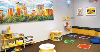 LEARNING CENTER REDESIGNED FOR ART EXPLORATION FOR ALL AGES