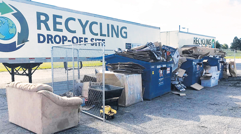 ILLEGAL DUMPING CAUSES THREAT TO COMMUNITY PROGRAM