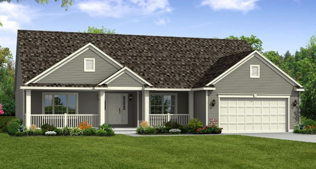 Ranch Home Floor Plans: The Yorktown