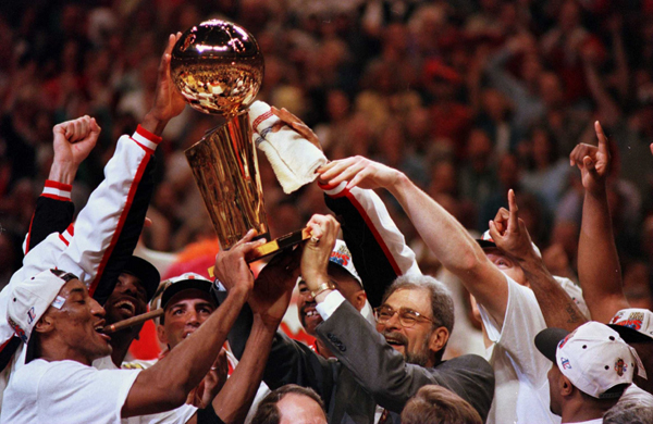 1996 NBA World Champion Chicago Bulls