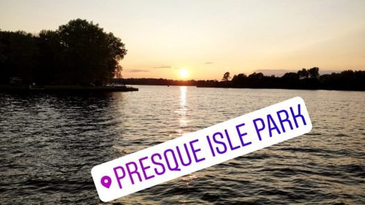 Presque Isle State Park along Lake Erie
