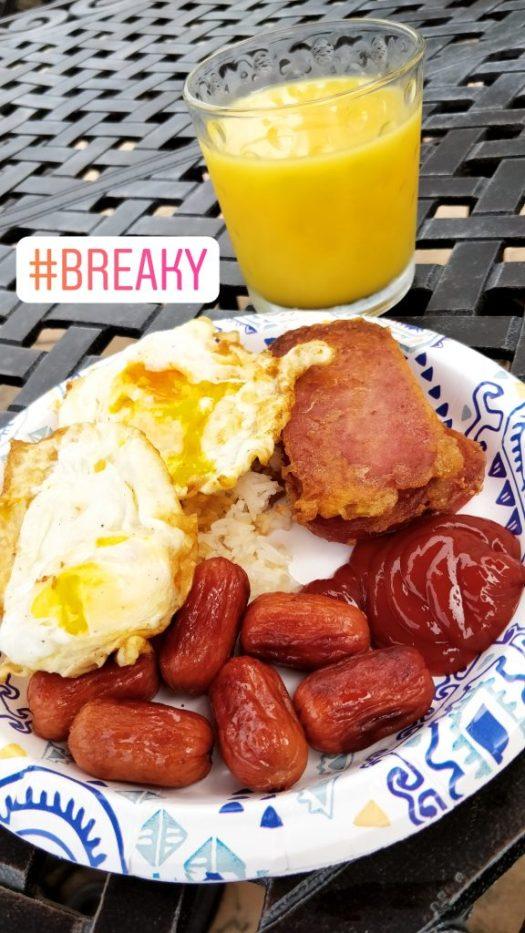 Your typical standard, Filipino breakfast!