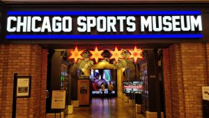 Chicago Sports Museum inside Water Tower Place