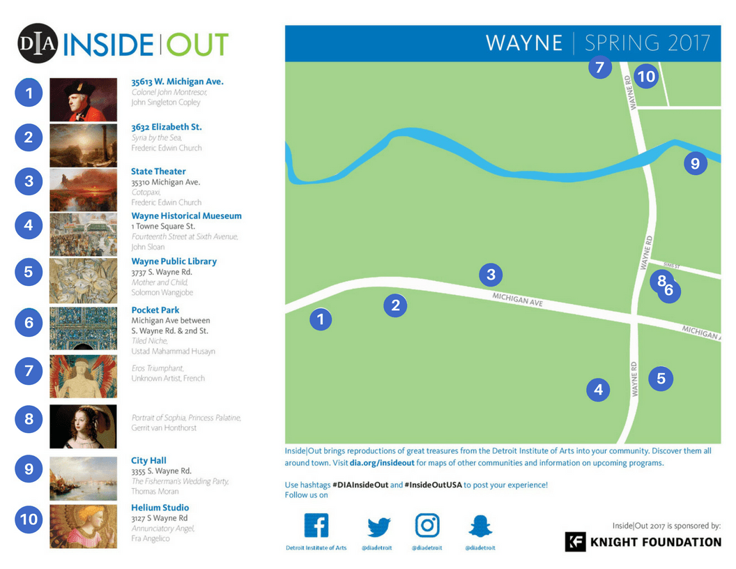 DIA Inside Out in Wayne! | Wayne Main Street on