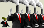 How Fossil Fuel Money Made Climate Change Denial the Word of God