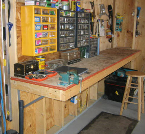 free workbench plans for garage