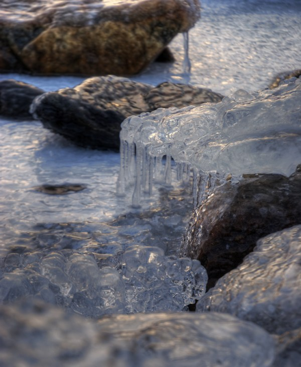 Parry Sound Ice Cubes