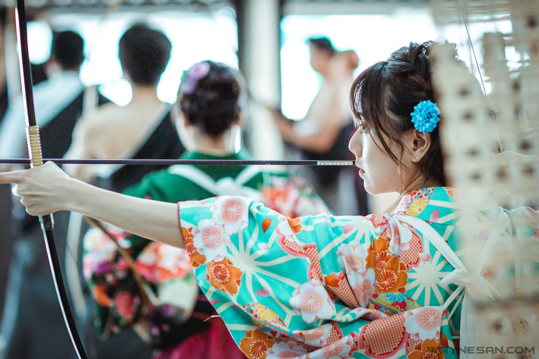 想來場日本弓道外拍?教你如何拍出一張合格的弓道照