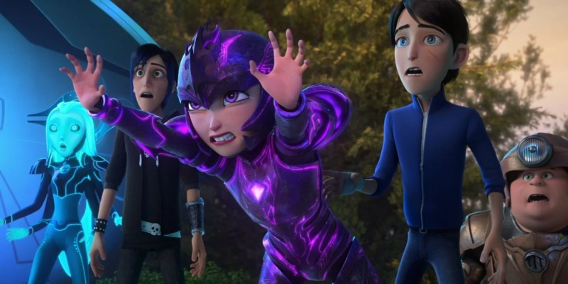 Trollhunters Rise of the Titans socials