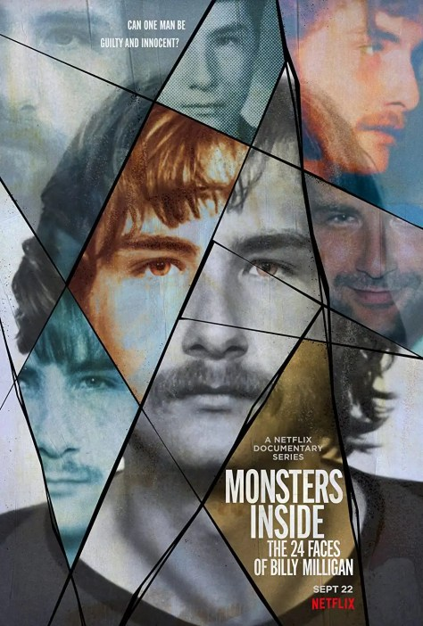Netflix 紀錄片《24個比利》上架,一位擁有 24 種獨特人格的犯罪故事