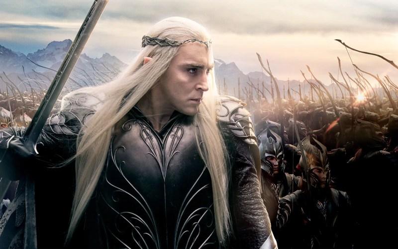 lee pace as thranduil in hobbit 3 wide