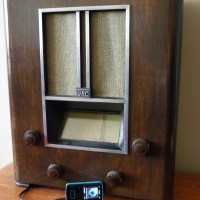 GEC 1930s Vintage Valve Radio