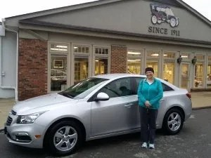Amy gets a Cruze