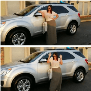 Leanna takes home a Chevrolet Equinox