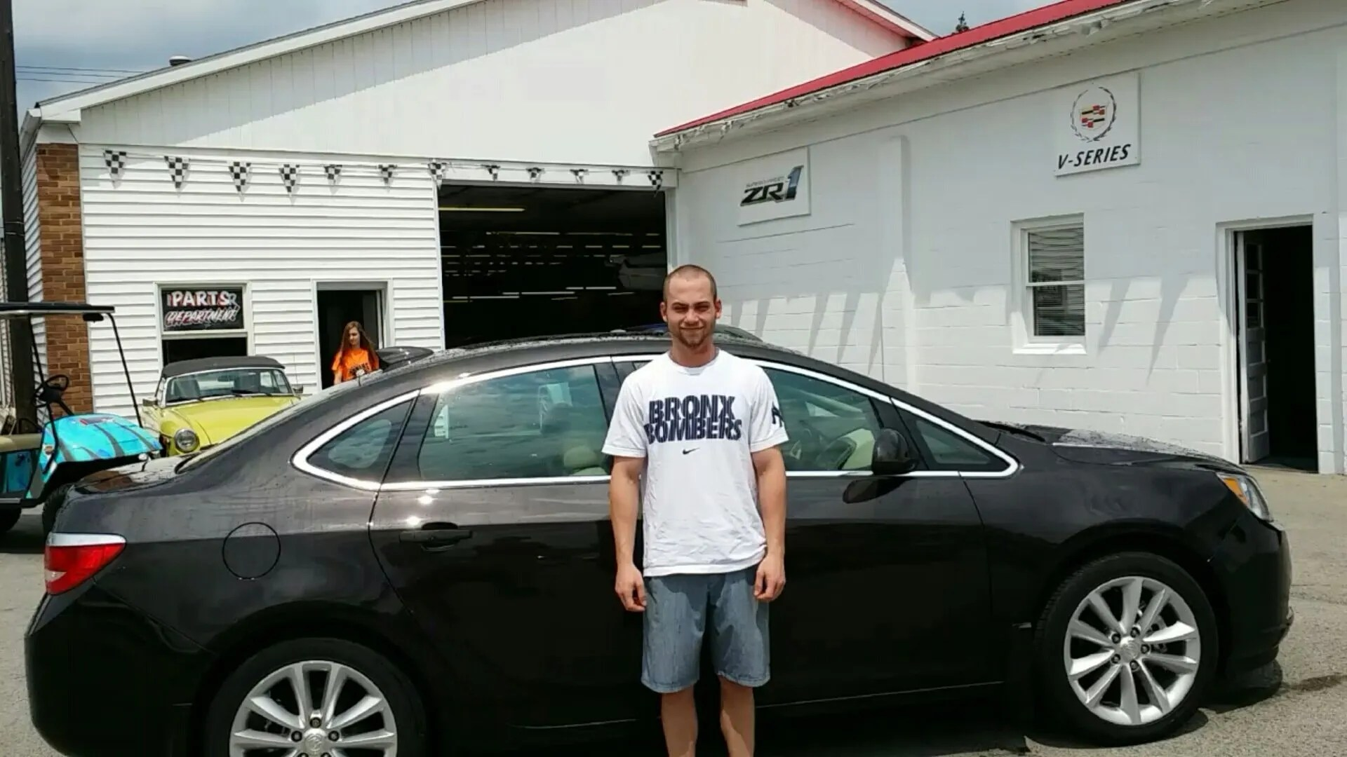 Pete takes home a Buick Verano