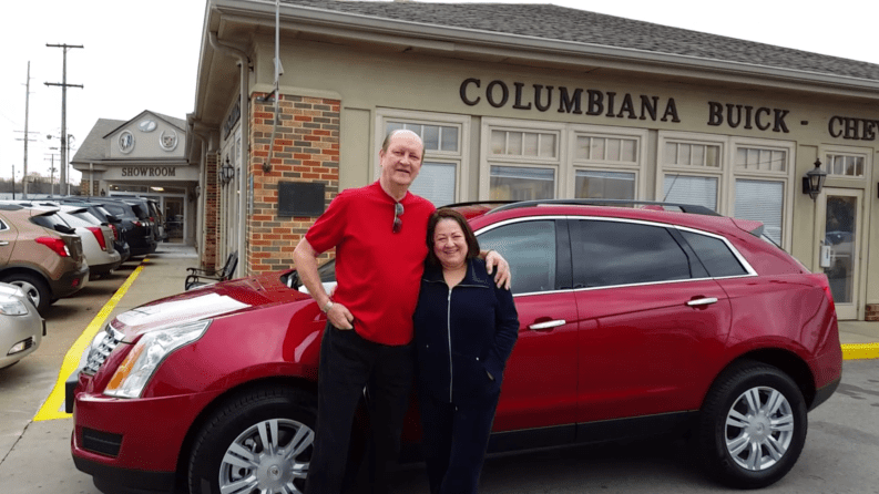 2016 Cadillac SRX for Nick and Gina