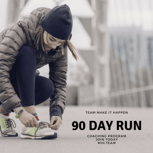 90 Day Run Coaching Program