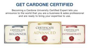 Cardone University Certification