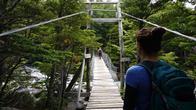 crossing bridges to the French Valley