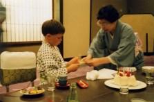 8th birthday at the Riokan