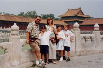 Goldhabers at the Forbidden City