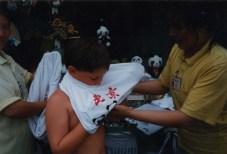 Panda bear T-shirt for Sam