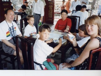 Tea at Summer Palace
