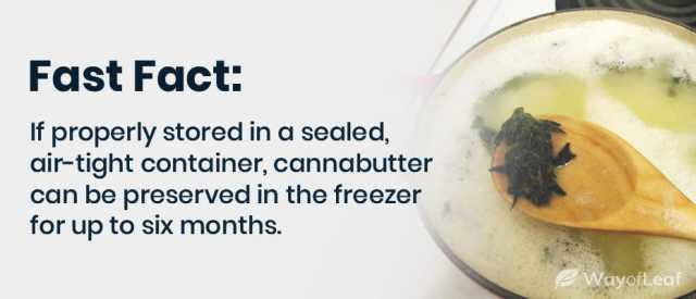 how long does Cannabutter last