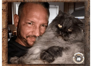 The Wisdom of Pangur Ban with Jim Woods and his cat Danica