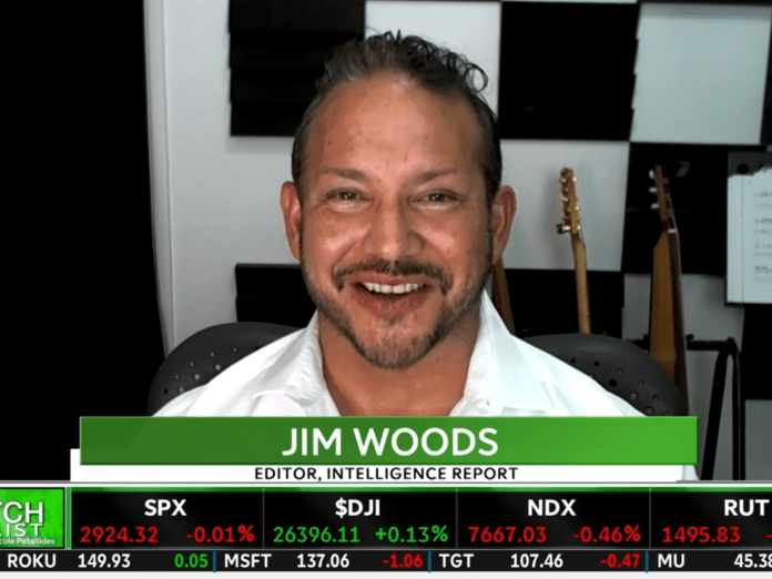 jim woods on TD Ameritrade television network