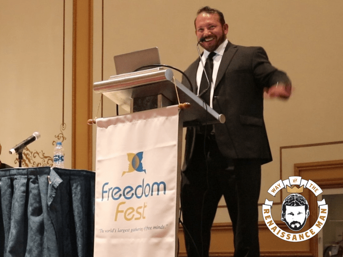 Renaissance Man Jim Woods Speaking FreedomFest