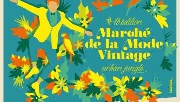 Wayome Upcycling Marche de la mode vintage affiche