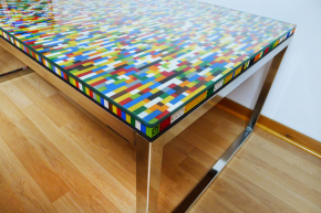 Wayome Upcycling Table en Lego Ikea