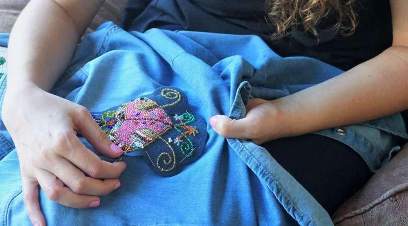 Wayome Upcycling customiser une chemise en jean - image une