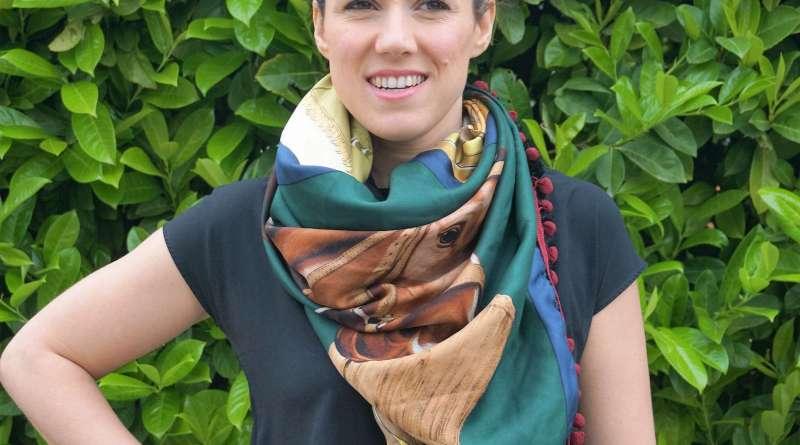 Wayome Upcycling foulard cheval image une